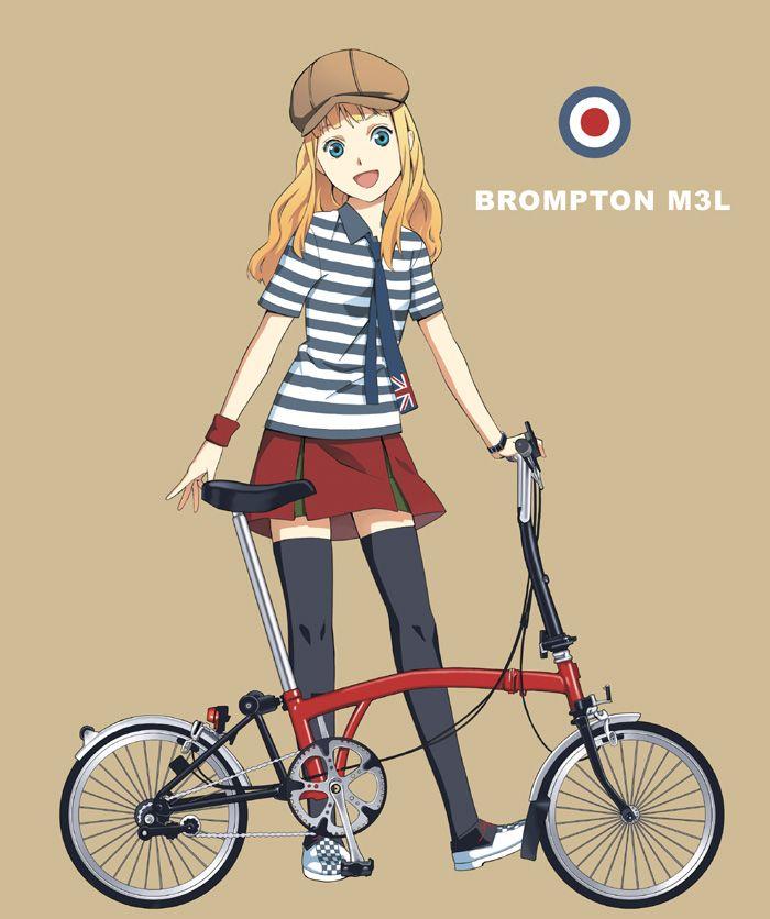 Manga style for #Brompton