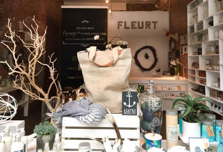 Seattle Shopping Guide: Top 10 Independent Boutiques | If looks can deceive, then floral and garden shop Fleurt is the biggest deception in Seattle.