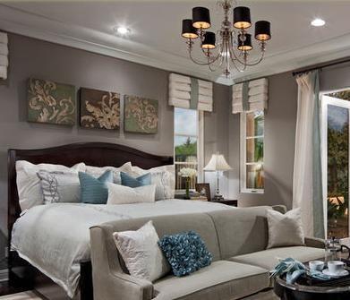 Decorar Habitaciones: Pinturas dormitorios matrimonio