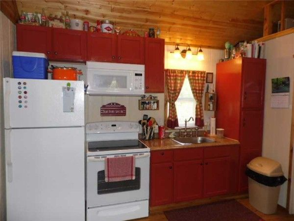 tiny home on homestead near eureka springs ak for sale 005 600x450   416 Sq. Ft. Whimsical Tiny Home on 2.79 Acres for Sale