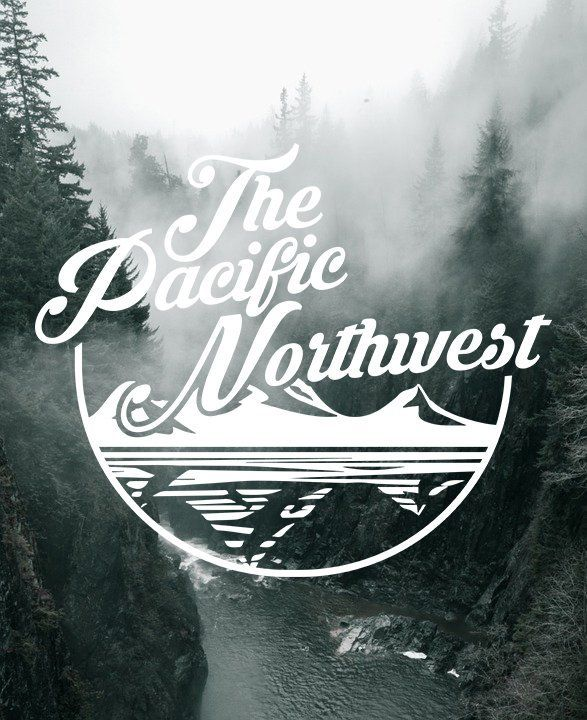 PACIFIC NORTHWEST VINYL DECAL STICKERS WINDOW WASHINGTON EXPLORE PNW NORTHWEST