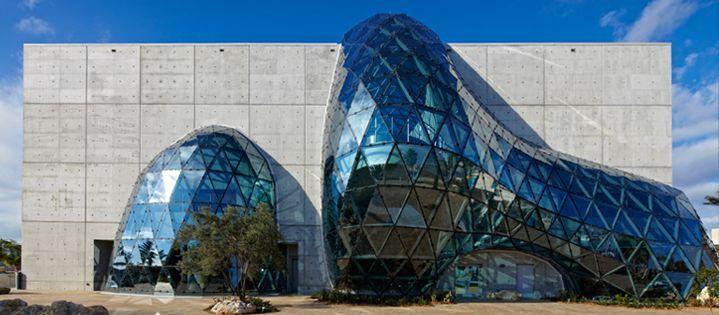 novum structures - Salvador Dali Museum, Tampa Bay