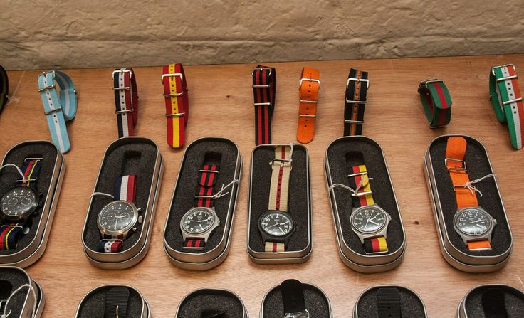 MWC  Another season, another series of superbly-colourful Nato straps from the Military Watch Company.