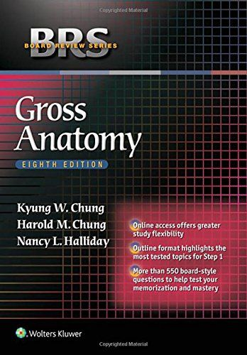 1451193076 - BRS Gross Anatomy (Board Review Series) - http://lowpricebooks.co/2016/09/1451193076-brs-gross-anatomy-board-review-series/