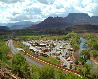 The Zion River Resort offers great RV park and campground amenities to help travelers have a great time in southern Utah.