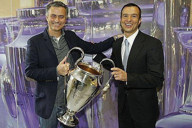 Jorge Mendes and Jose Mourinho
