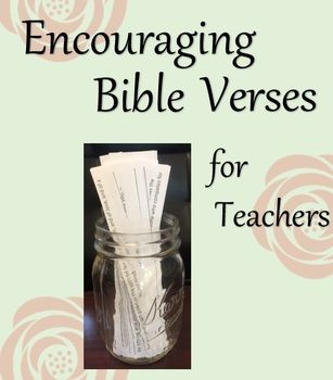 Encouraging Bible Verses for Teachers