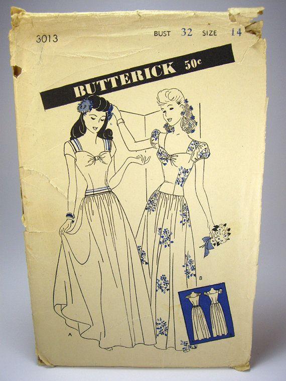 1940s party dresses