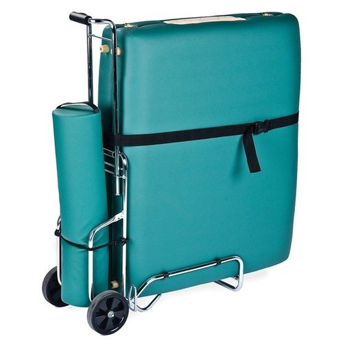 ***FREE SHIPPING***Save your strength and muscles for delivering your next massage by transporting your table and supplies in the Earthlite Massage Table Cart. You can easily roll your table along in