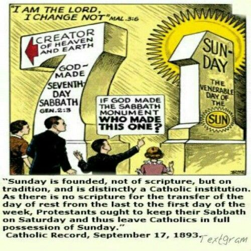 7th day/Saturday  vs  1st day/Sunday Does it really matter to Hashem (God/ in Hebrew) which day we keep, isn't any day as good as the next?  Let's let the Word speak for Himself, & the beast for itself.  …A) The WORD:  …{Genesis 2:1-3 NKJV}  Thus the heavens and the earth, and all the host of them, were finished. And on THE SEVENTH DAY God ended His work which He had done. Then God BLESSED THE SEVENTH DAY and SANCTIFIED It, because in it He rested from all His work which God had created and…