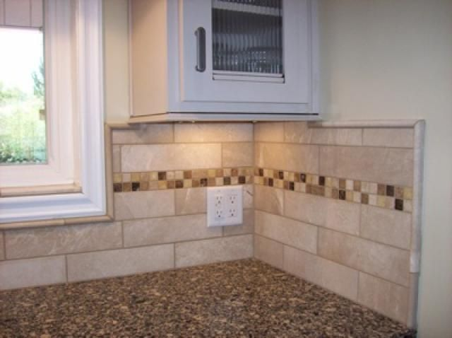 Step by step instructions on how to remodel a kitchen for Replacing backsplash