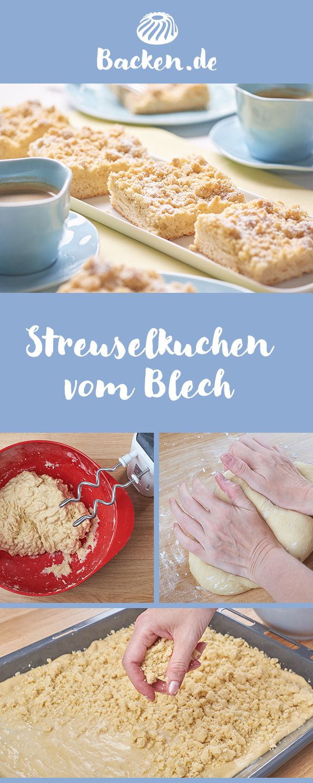 Streuselkuchen Vom Blech Rezept Kinderrezepte