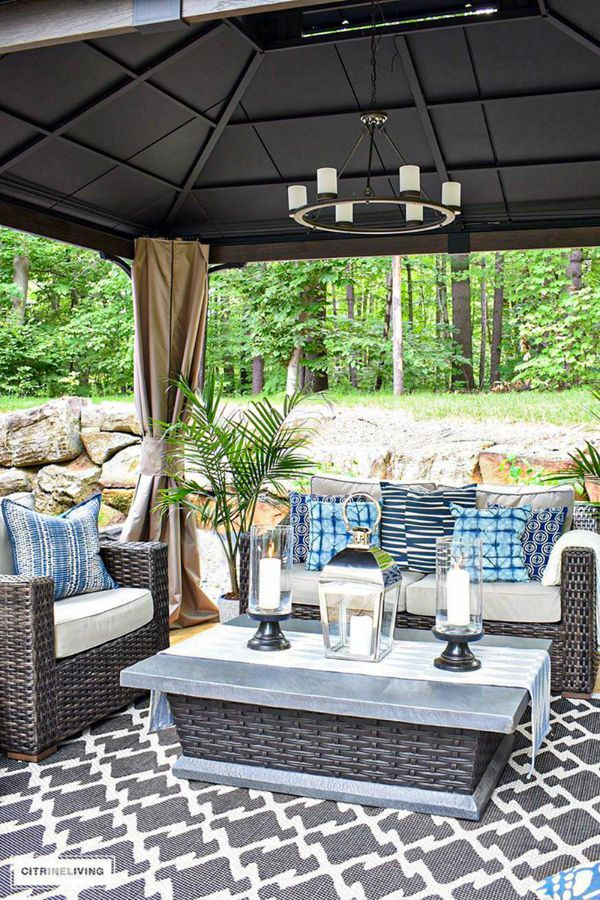 Awesome Backyard Ideas For Your Beautiful Home Page 32 Of 45 Evelyn S World My Dreams My Colors And My Life Outdoor Patio Decor Backyard Patio Furniture Backyard Dining