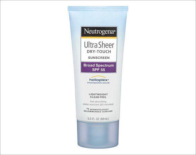 افضل واقي شمس طب ي 6 كريمات تحمي بشرتك مئة في المئة Broad Spectrum Sunscreen Neutrogena Shampoo Bottle