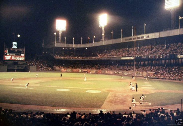 Polo Grounds, home of NY Giants Baseball