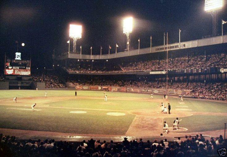 Polo Grounds, home of NY Giants Baseball