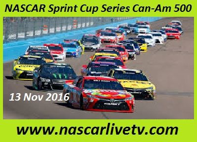 NASCAR Sprint Cup Series Can-Am 500 live