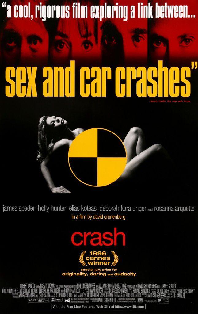 Crash (1996) Original One-Sheet Movie Poster