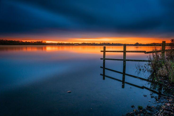 Twilight at Pennington Flash by Stanokella