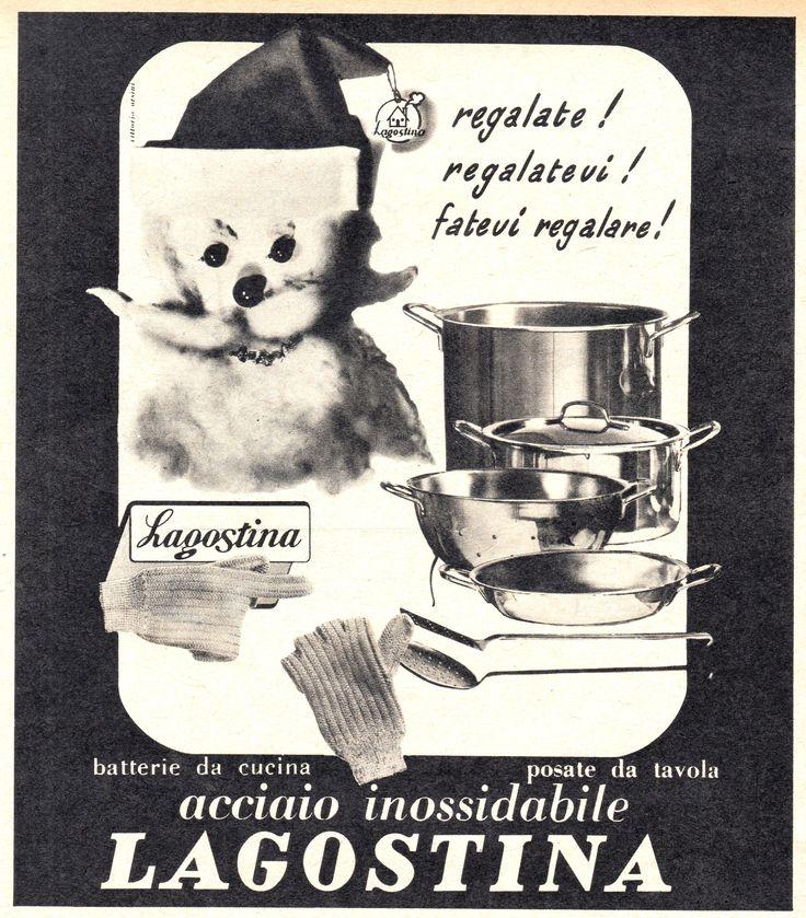 LAGOSTINA - Pentole in acciaio inossidabile - cm 15x17 - (Grazia 1953)