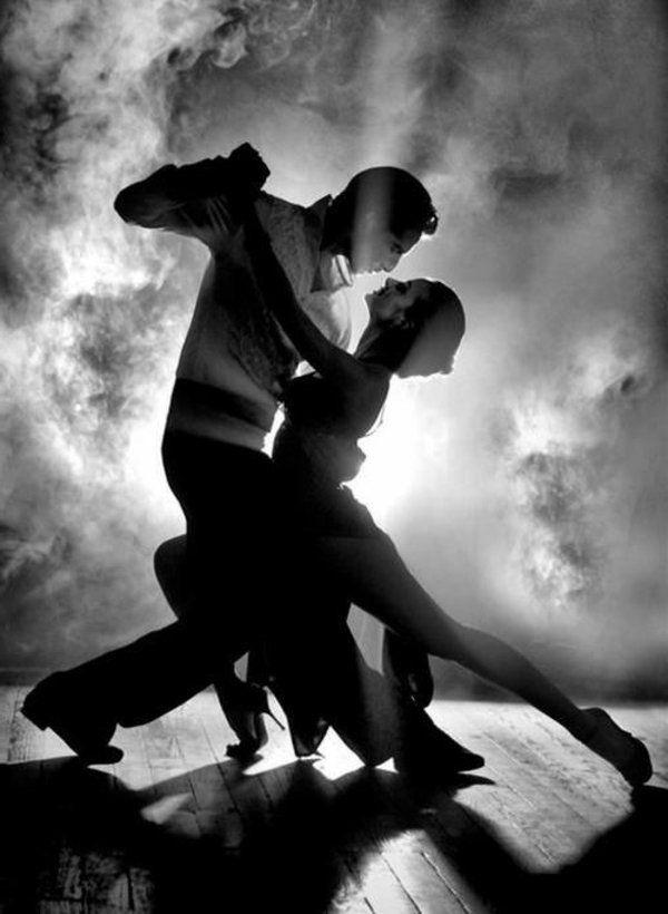 La passion de danse de tango