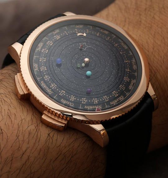 The Solar System Watch....okay so it doesn't really tell time, but it's still awesome.