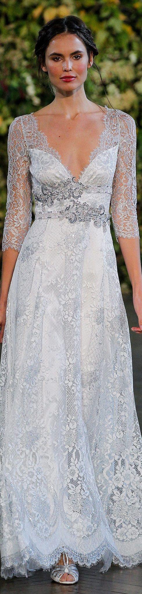 Claire Pettibone Bridal Autumn 2015.                                                                                                                                                      More