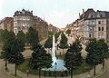 Kölner Ringe – Barbarossaplatz 1900