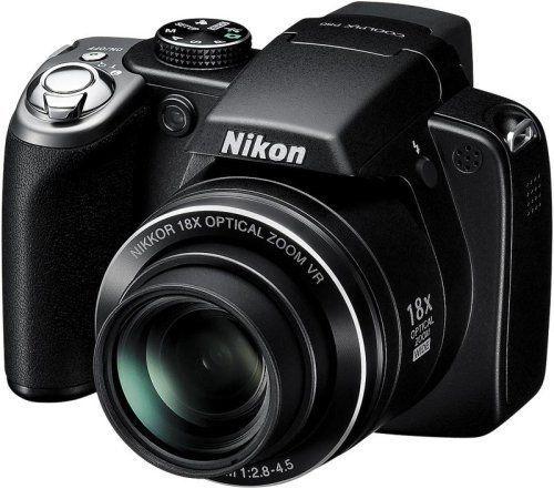 Digital Camera Nikon Coolpix P80 10.1 MegaPixel 18 X Optical Zoom Black