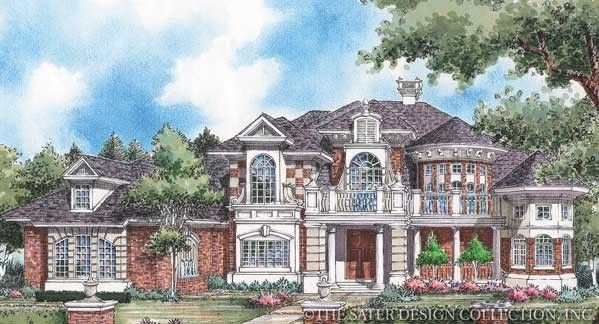 Royal country down house plan european house plans for Sater com