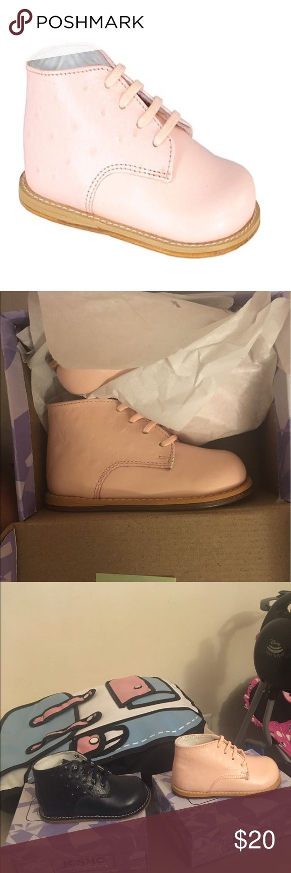 """Toddler's walking shoes Brand new """"Pink Ostrich"""" walking shoes. Still in the box 📦 size 5.5 Shoes"""