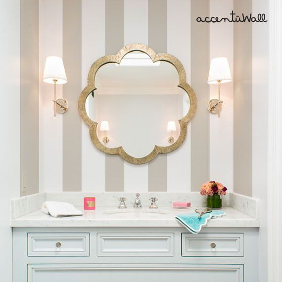 stick on bathroom mirrors 25 best ideas about fabric wallpaper on 20676