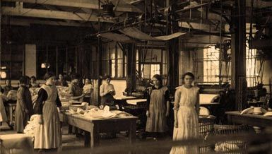 Working life in the Roath Sanitary Steam Laundry
