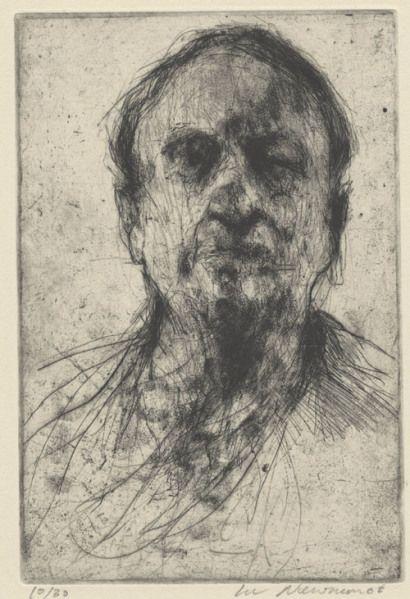 Lee Newman etching