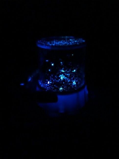 Lampara azul