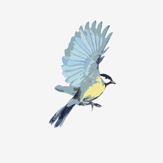 Cartoon Bird Waving Its Wings Bird Clipart Blue Bird Lark Png Transparent Clipart Image And Psd File For Free Download Cartoon Birds Bird Bird Clipart