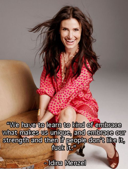 Totally obsessed with Wicked right now...Idina Menzel is crazy good and what an awesome quote!