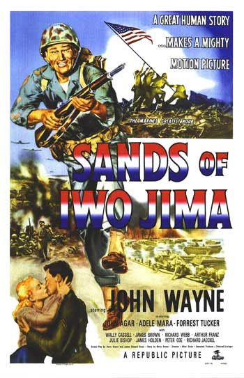 Sands Of Iwo Jima (1949) Marine Corps Sergeant John M. Stryker is a tough guy with an even tougher job - turn a platoon of raw recruits into a combat-ready fighting machine. He pushes them mentally an