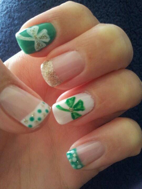 127 best st patricks day nail design images on pinterest st patricks day nails prinsesfo Images