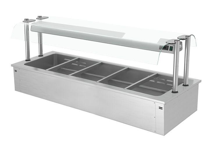 GGM Gastro International   Einbau Bain Marie 1,8m - Serie D