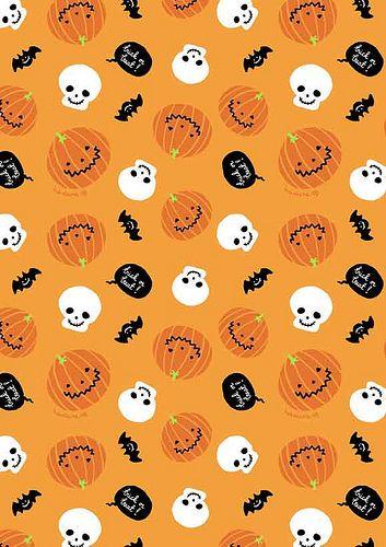 FREE printable halloween paper / by babalisme, via Flickr