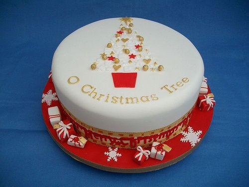<3 Christmas Cake | Christmas Cake Ideas