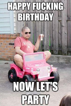Funny happy birthday memes for guys kids sister husband.Hilarious bday meme rude tumblr hbd meme generator best bday jokes for brothers friends.