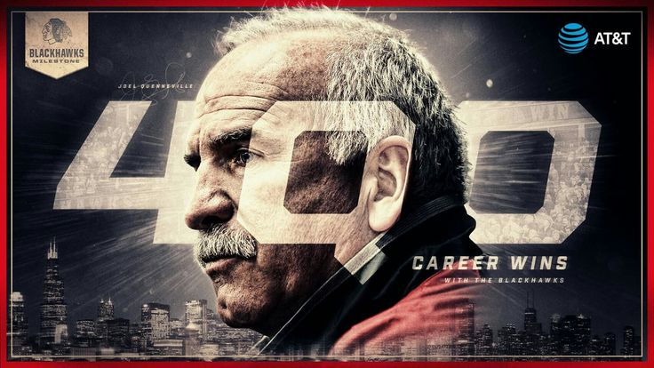 Coach Q wins his 400th game with the Blackhawks!  He's the 12th NHL head coach to win 400 games with one team.