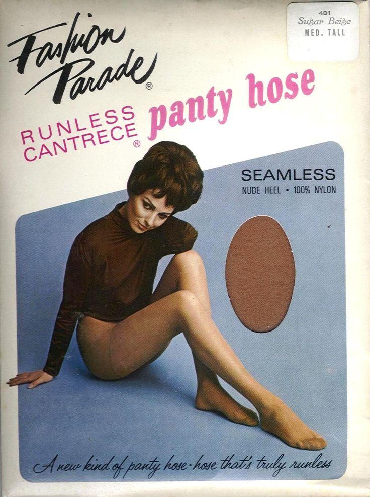 Fashion Parade US Vintage Nylonstrumpfhose