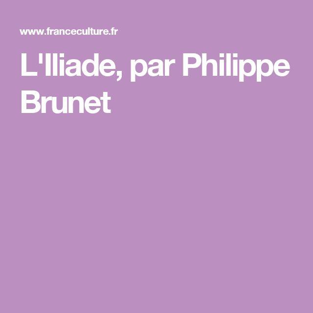 L'Iliade, par Philippe Brunet