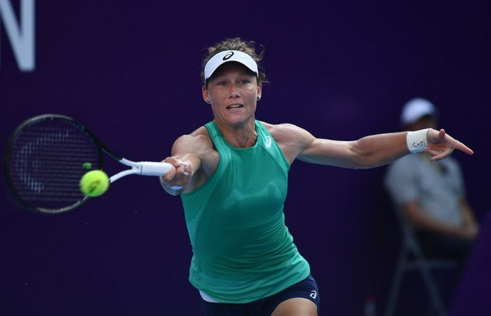 Stosur Falls To Kenin In Wta Guangzhou Final Sam Stosur Fights Hard But Ultimately Goes Down In Three Sets To World No 20 Sofia Guangzhou Finals Sporting Live