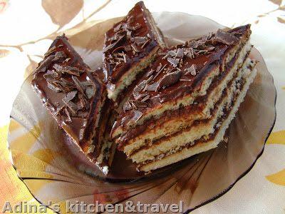 Adina's kitchen & travel: Foi fragede cu crema de cacao si rom