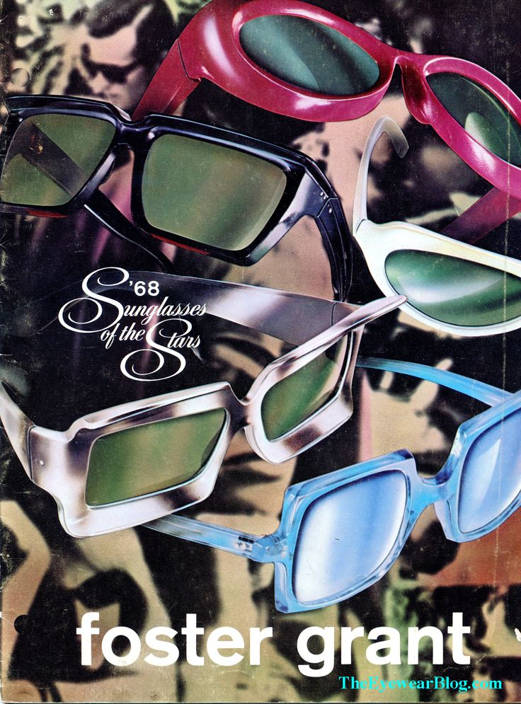 Vintage Foster Grant Sunglasses - The First Fashion Eyewear Company