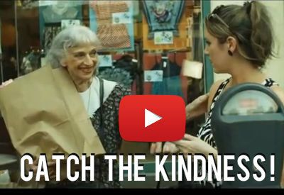 Imagine a chain reaction of kindness